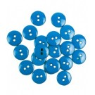 Sortido Botoes Colors 15 mm (20 unds.) by Efco - Blue