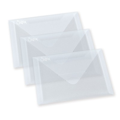 Sizzix Envelopes Plásticos (3 unds.)