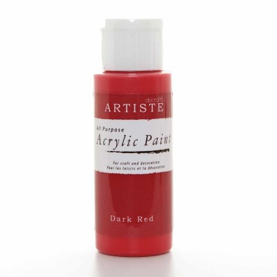 Acrylic Paint (2oz) - Dark Red