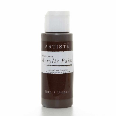 Acrylic Paint (2oz) - Burnt...