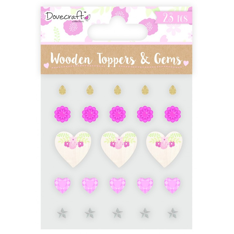 Toppers & Gems - Happily Ever After by Dovecraft