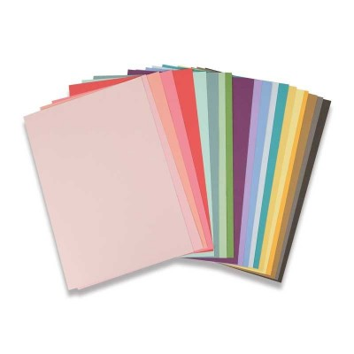 80 Cardstock Sheets (20 colours)
