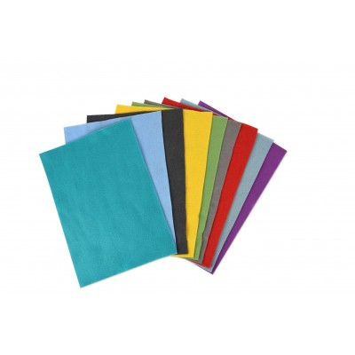 10 Felt Sheets (10 colours)