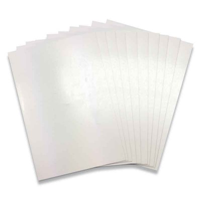 10 Sheets of A4 Shrink Plastic