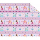 "Double Sided Cardboard (19 1/2"" x 26 4/5"") Princesses and Butterflies"