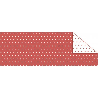 "Double Sided Cardboard (19 1/2"" x 26 4/5"") Red Dots"
