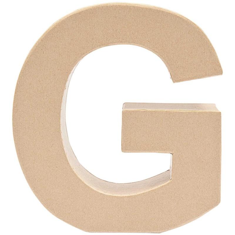 """7"""" Cardboard Letter """"G"""""""