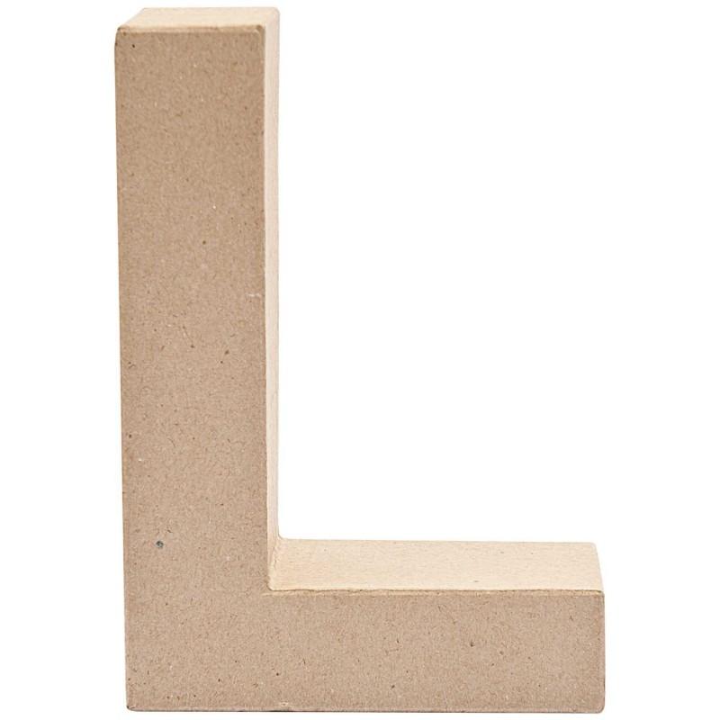"""7"""" Cardboard Letter """"L"""""""