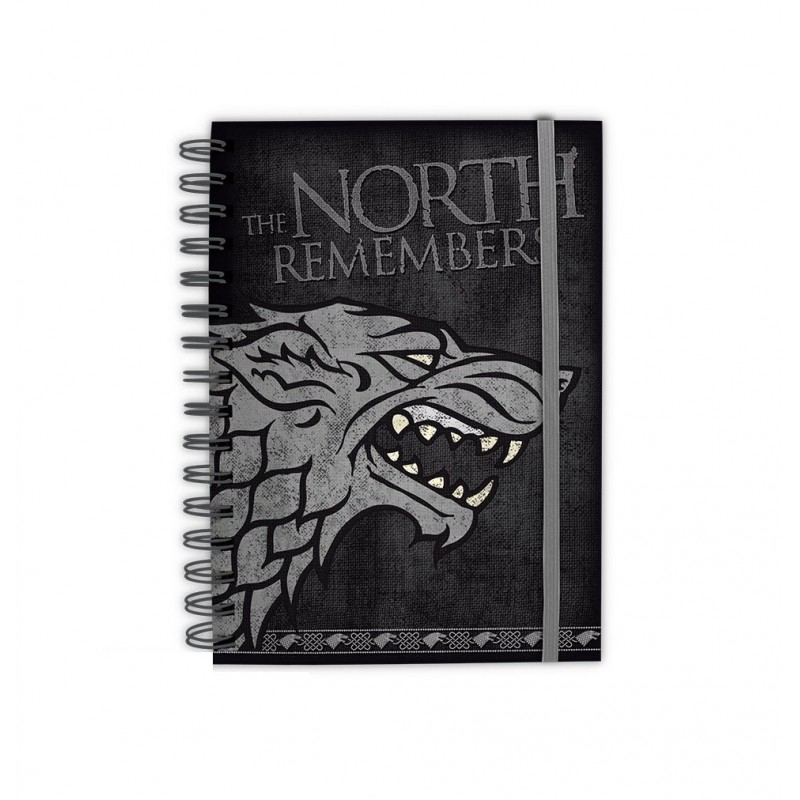 Notebook A5 The North Remembers