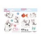 Set of Stickers Chi