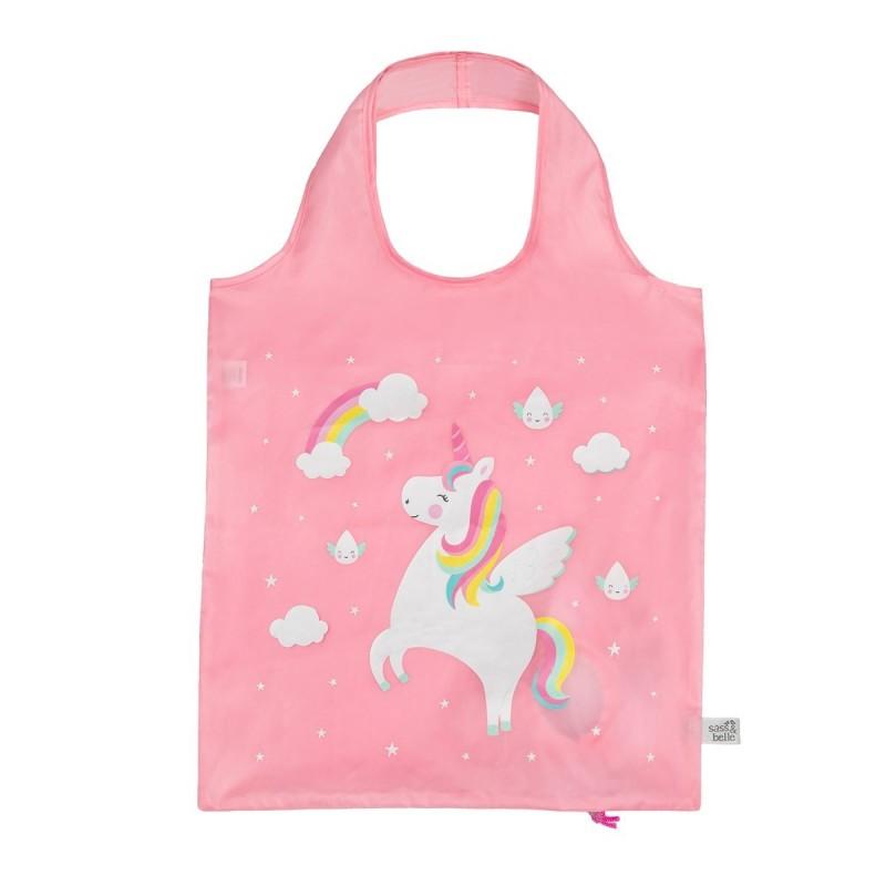 Bolsa Plegable Unicornio