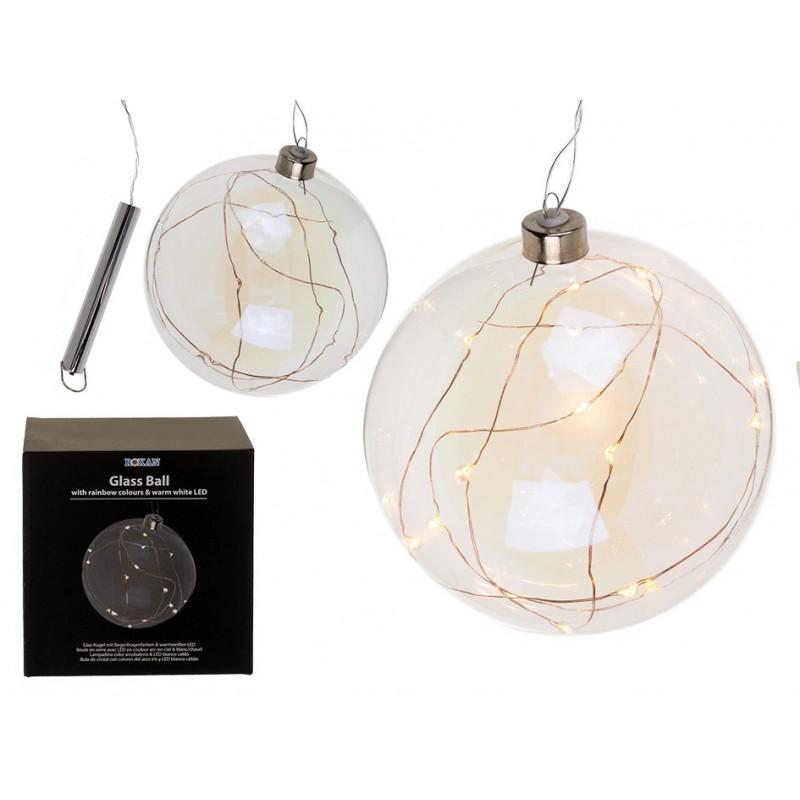 Bola de Cristal c/ Luces LED