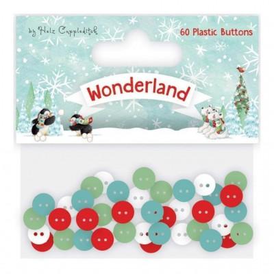 Botões Wonderland