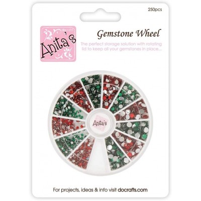 Assorted Red & Green Strass