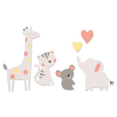 Sizzix Bigz Die Zoo Friends...