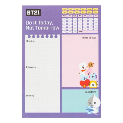 Daily Planner BT21