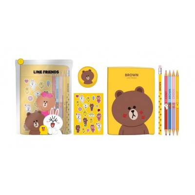Stationery Kit Line Friends