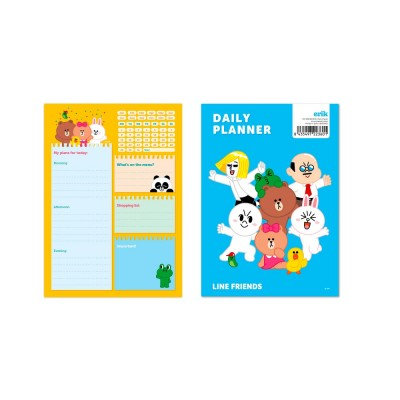 Daily Planner Line Friends