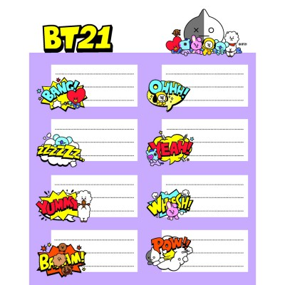 Stickers BT21