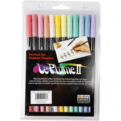 Set of 12 Markers - Pastel...