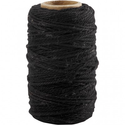 Cordão Backers Twine Preto