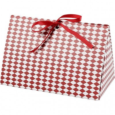 Set of 5 Gift Boxes Red...