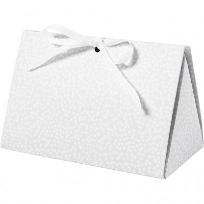 Set of 5 Gift Boxes Grey &...