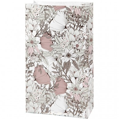 Set of 8 Gift Boxes Floral