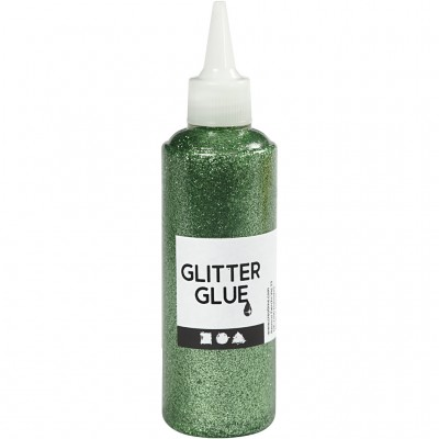 118 ml Glitter Glue - Green
