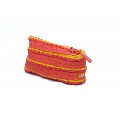 Coin Purse - Orange & Yellow