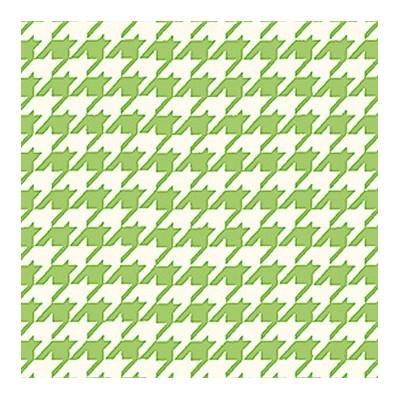 Tecido Verde Pé de Galo