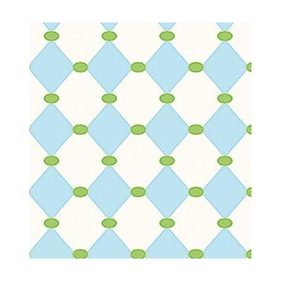 Fabric Diamonds Blue