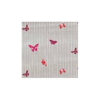 Fabric Grey Butterflies