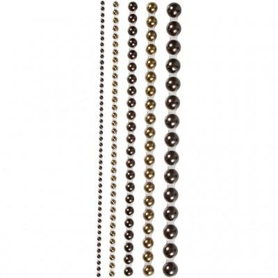 Conj. 140 Perlas Adhesivas...