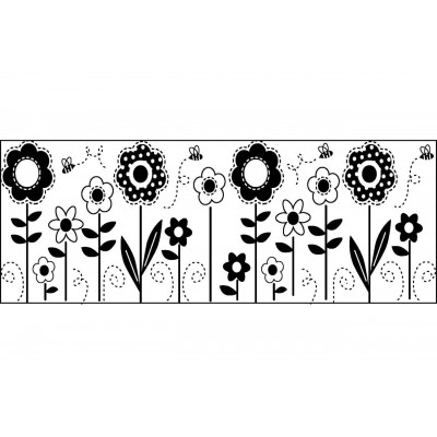 Continuous Flower Stamp
