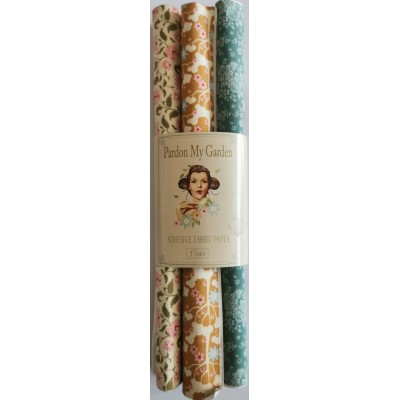 Set of 3 Floral Adhesive...