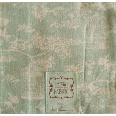 Birdcages Fabric
