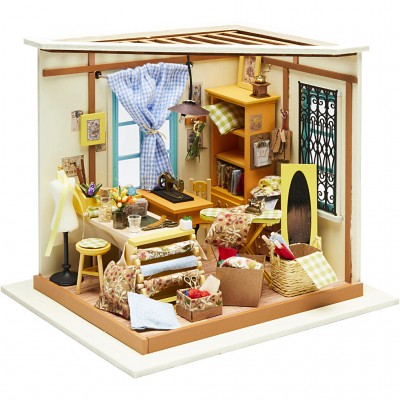 Kit Criativo DIY Mini Casa...