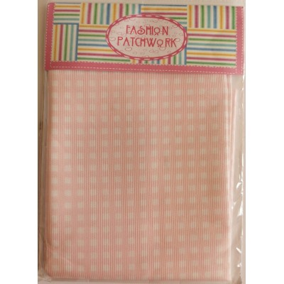 Checkered Pink Fabric