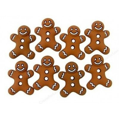 Gingerbread Cookies Buttons...
