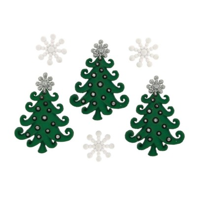 Christmas Tree Buttons...