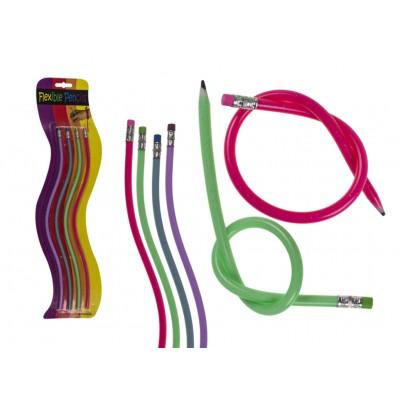 Set of 4 Flexible Pencils